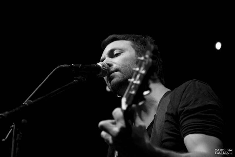 Sesión fotográfica de Pablo galiano, músico